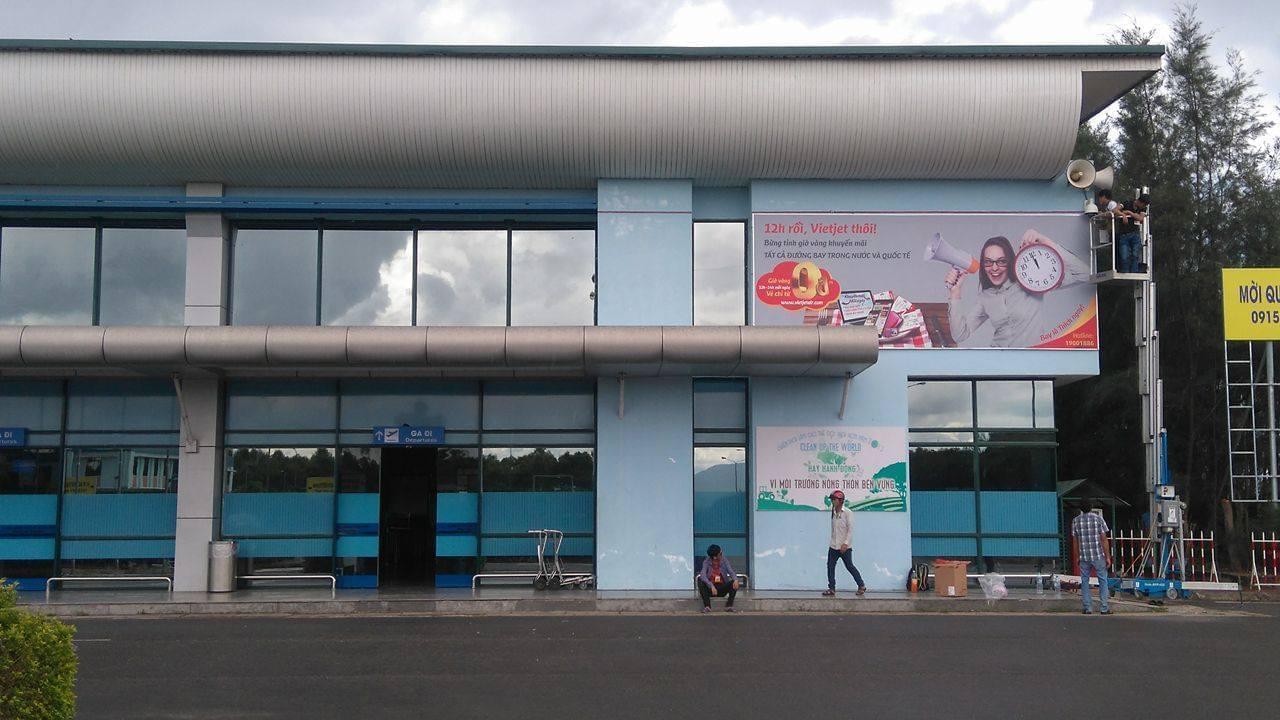 Lắp đặt camera cảng hàng không Đồng Hới - Quảng Bình