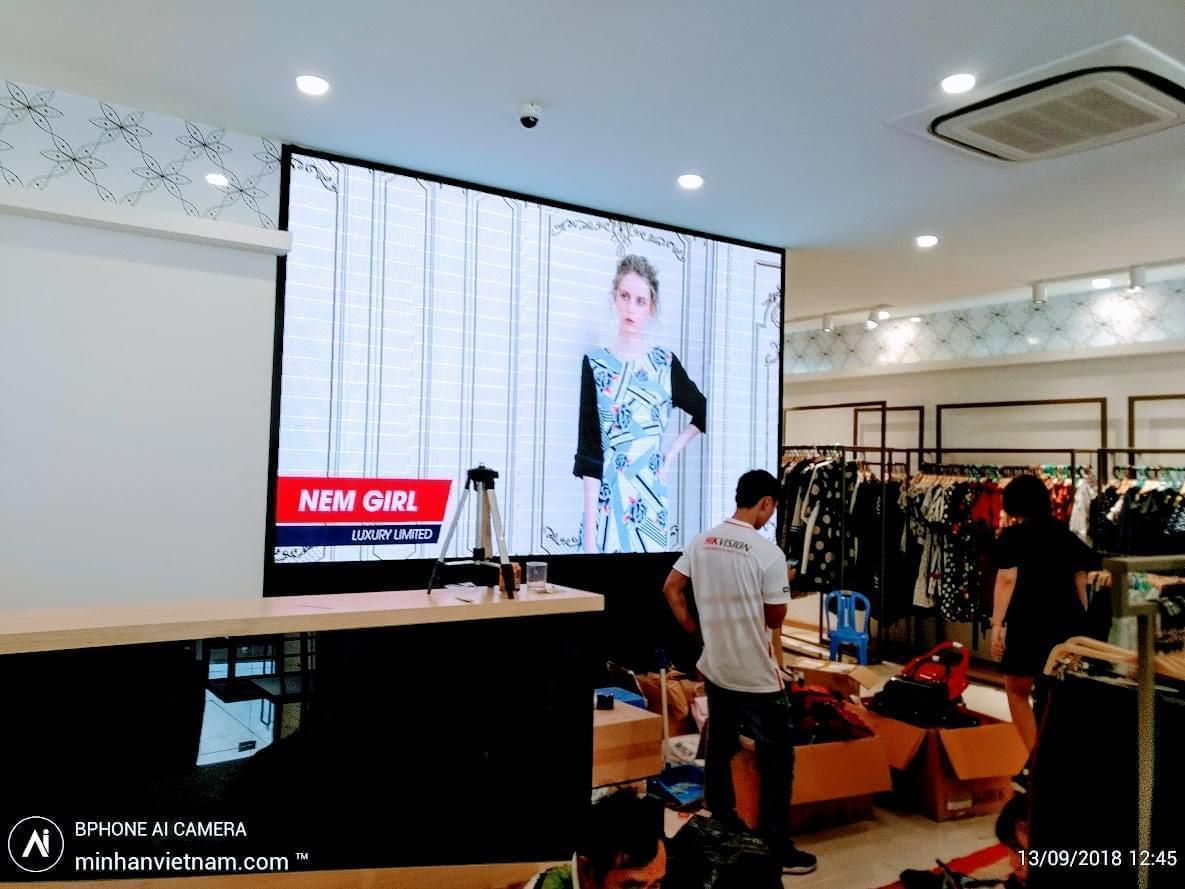 Lắp đặt camera hệ thống thời trang NEM - Toàn Miền Trung